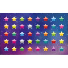 Наклейка А6 МИНИ Звезды