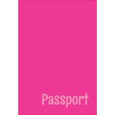 Обложка для паспорта passport, розовая
