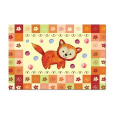 Обложка А5 для свидетельства о рождении лисичка