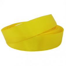 Лента атлас, желтый