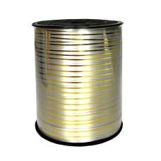 Лента золотая полоса бобина, серый