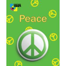 Значок D38 мм peace