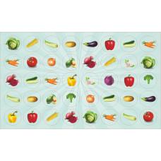 Наклейка А6 МИНИ овощи